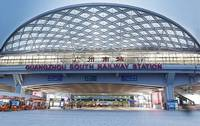 广州南站弧形铝方管工程