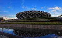 深圳坪山体育中心氟碳幕墙铝单板工程案例
